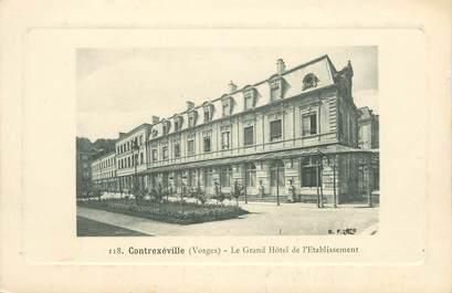 "CPA FRANCE 88 ""Contrexéville, Le Grand Hotel """