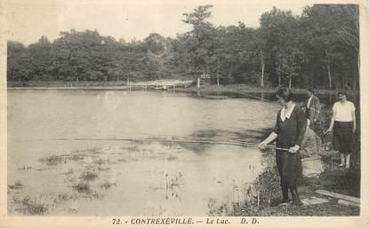 """CPA FRANCE 88 """"Contrexéville, Le Lac"""""""