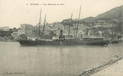 """CPA ALGERIE """"Bougie, le port"""""""