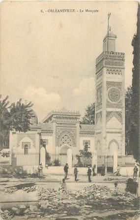 """CPA ALGERIE """"Orléansville, la Mosquée"""""""