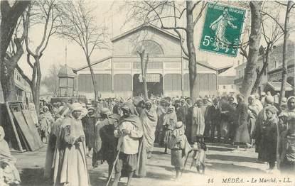 "CPA ALGERIE ""Médéa, le marché"""