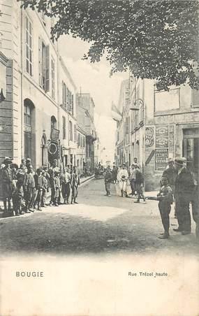 """CPA ALGERIE """"Bougie, rue Trézel"""""""