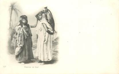 "CPA ALGERIE / SCENES ET TYPES ""Femmes du Sud"""