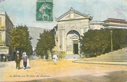 """CPA ALGERIE """"Bone, le palais de justice"""""""