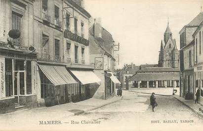 """CPA FRANCE 72 """"Mamers, rue Chevalier"""""""