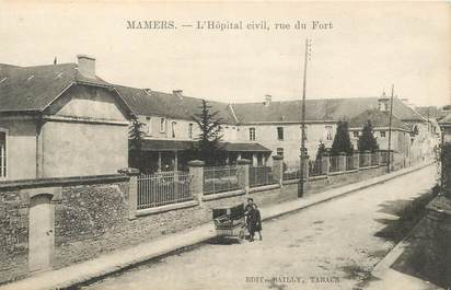 "CPA FRANCE 72 ""Mamers, l'Hopital civil"""