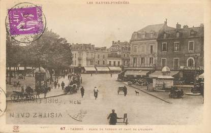 "CPA FRANCE 65 ""Tarbes, place de Verdun"""