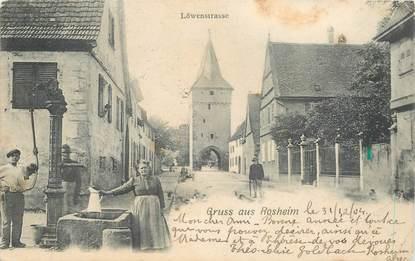 """CPA FRANCE 67 """"Gruss aus Rosheim"""""""