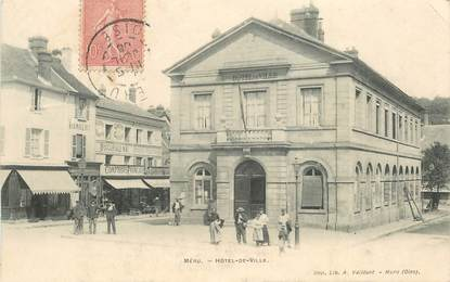 "CPA FRANCE 60 ""Méru, Hotel de ville"""
