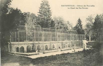 """CPA FRANCE 77 """"Hautefeuille, Chateau des Tournelles"""""""