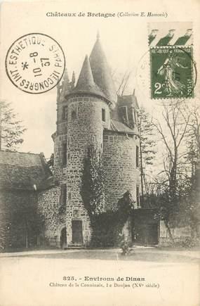 """CPA FRANCE 22 """"Env. de Dinan, Chateau de la Conninais"""""""