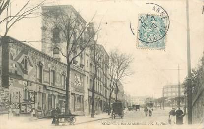 "CPA FRANCE 94 ""Nogent, rue de Mulhouse"""