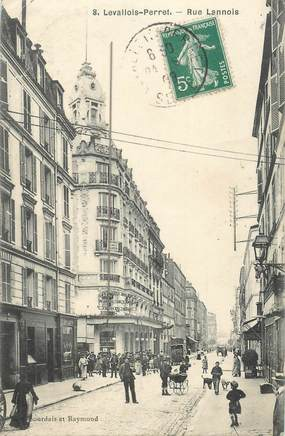 """CPA FRANCE 92 """"Levallois Perret, rue Lannois"""""""