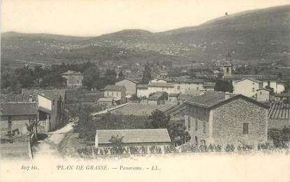 """CPA FRANCE 06 """"Plan de Grasse"""""""