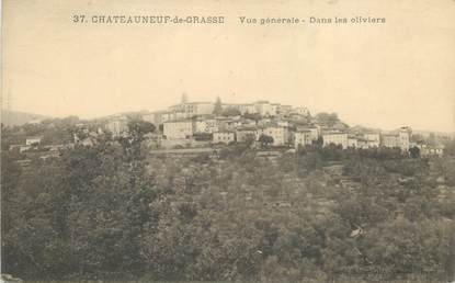 """CPA FRANCE 06 """"Chateauneuf de Grasse"""""""