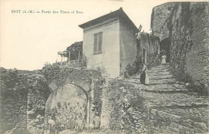 "CPA FRANCE 06 ""Biot, Porte des Tines"""