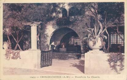 """CPA FRANCE 06 """"Cagnes, Hostellerie de la Closerie"""""""