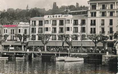 "CPSM FRANCE 74 ""Evian les Bains, Hotel Albert 1er"""