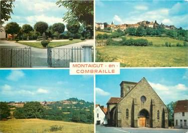 """CPSM FRANCE 63 """"Montaigut en Combraille"""""""