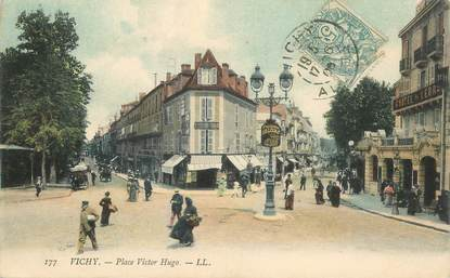 "CPA FRANCE 03 ""Vichy, Place Victor Hugo"""