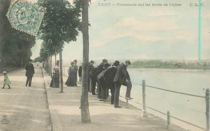 """CPA FRANCE 03 """"Vichy, promenade sur les bords de l'Allier"""""""