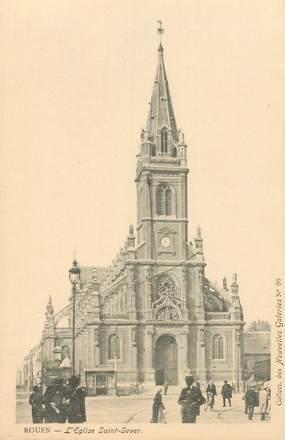 """CPA FRANCE 76 """"Rouen, Eglise Saint Sever"""" / COLLECTION DES NOUVELLES GALERIES"""