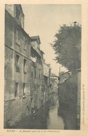 """CPA FRANCE 76 """"Rouen, l'Aubette"""" / COLLECTION DES NOUVELLES GALERIES"""