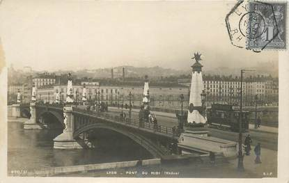 """CPA FRANCE 69 """"Lyon, Pont du Midi"""""""