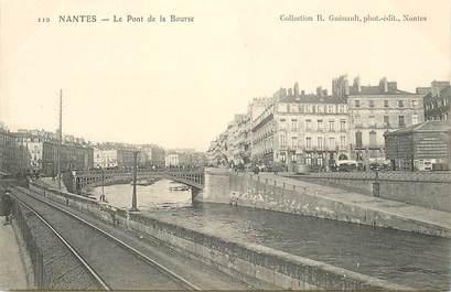 """CPA FRANCE 44 """"Nantes, le Pont de la Bourse"""" / COLLECTION R. GUENAULT"""