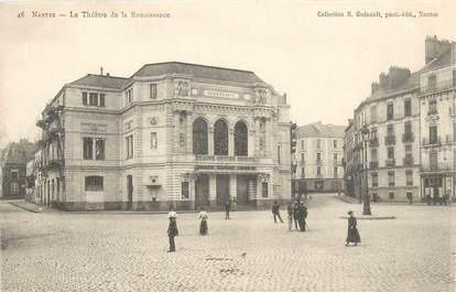 """CPA FRANCE 44 """"Nantes, le Théâtre de la Renaissance"""" / COLLECTION R. GUENAULT"""