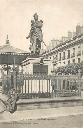 """CPA FRANCE 44 """"Nantes, Statue de Cambronne"""" / COLLECTION R. GUENAULT"""