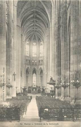 """CPA FRANCE 44 """"Nantes, intérieur de la Cathédrale"""" / COLLECTION R. GUENAULT"""