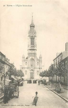 "CPA FRANCE 44 ""Nantes, L'Eglise Sainte Anne"" / COLLECTION R. GUENAULT"