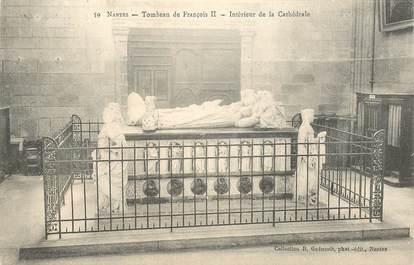 """CPA FRANCE 44 """"Nantes, Nouveau Tombeau de François II"""" / COLLECTION R. GUENAULT"""