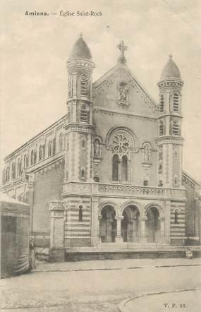 """CPA FRANCE 80 """"Amiens, Eglise Saint Roch"""" / EDITEUR V.P. PARIS"""