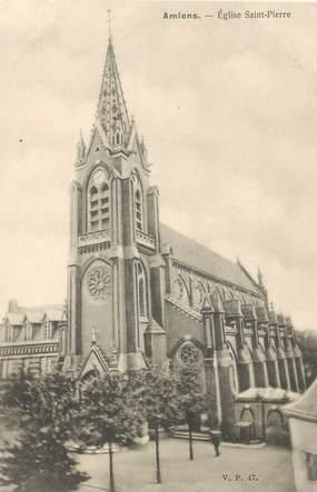 """CPA FRANCE 80 """"Amiens, Eglise Saint Pierre"""" / EDITEUR V.P. PARIS"""