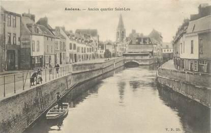 """CPA FRANCE 80 """"Amiens, ancien quartier Saint Leu"""" / EDITEUR V.P. PARIS"""