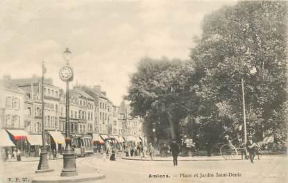 """CPA FRANCE 80 """"Amiens, Place et jardin Saint Denis"""" / EDITEUR V.P. PARIS"""