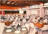 """83 Var CPSM FRANCE 83 """"Hyères, salle de restauration Village Vacances Famille"""""""