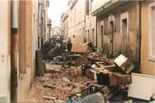 "30 Gard CPSM FRANCE 30 ""Nimes, Inondations du 03/10/1988"""
