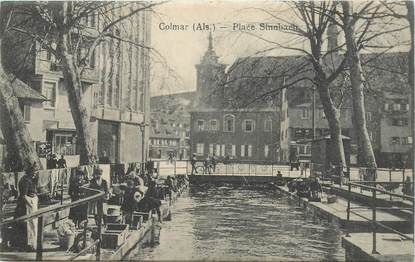 "CPA FRANCE 68 ""Colmar, Place Sinnbach"""