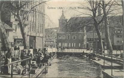 "CPA FRANCE 68 ""Colmar, Place Sinnbach"""