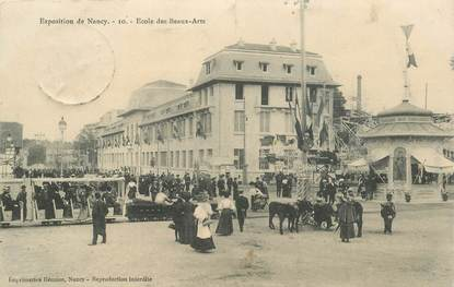 """CPA FRANCE 54 """"Exposition de Nancy, Ecole des Beaux Arts"""""""