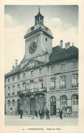 "CPA FRANCE 67 ""Wissembourg, Hotel de ville"""