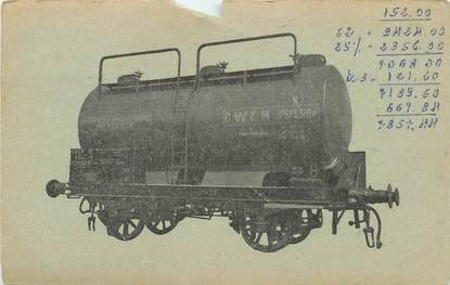 "CPA FRANCE 13 ""Marseille, compagnie des Wagons Foudres"""