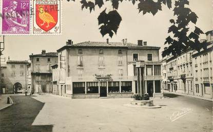 "CPSM FRANCE 07 ""Tournon, Place Rampon"""