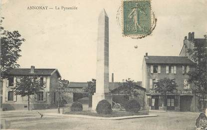 """CPA FRANCE 07 """"Annonay, La Pyramide"""""""