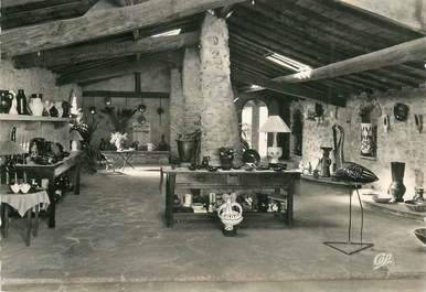 "CPSM FRANCE 06 ""Vallauris, magasin d'exposition d'une poterie"""