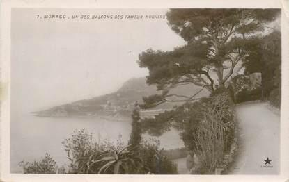 """CPA MONACO """"les Rochers"""""""
