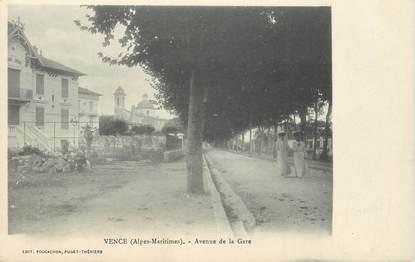 "CPA FRANCE 06 ""Vence, avenue de la gare"""